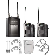 ATW-1821 - 1800 Series Portable Dual Wireless Microphone System - Includes: ATW-R1820 Dual Receiver and (2) ATW-T1801 Bodypack T Image 0