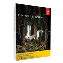 Adobe Photoshop Lightroom 5 Software for Mac and Windows (Boxed Version, Student and Teacher Edition)