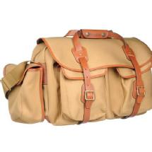 Billingham 550 Original Camera Bag (Khaki w/ Tan Trim)