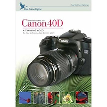Blue Crane Digital Introduction to the Canon 40D Training DVD
