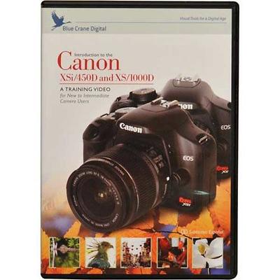 Blue Crane Digital Introduction to the Canon Rebel XSi Training DVD