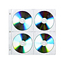 CD Case 4 Disc Refill
