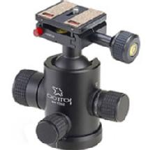 Giottos MH-1302 Pro Series II Ballhead with MH-655 Quick Release System - Supports 18 lbs (8 kg)