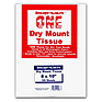 8x10 Dry Mount Tissue, 100 Sheets