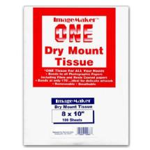 Dot Line Corp. 8x10 Dry Mount Tissue, 100 Sheets