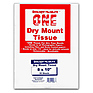 8x10 Dry Mount Tissue, 25 Sheets