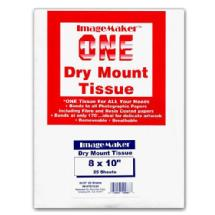 Dot Line Corp. 8x10 Dry Mount Tissue, 25 Sheets