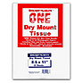 8.5x11 Dry Mount Tissue, 25 Sheets