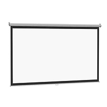 Electrol Projector Screen 52x92 in. Matte White Fabric Image 0