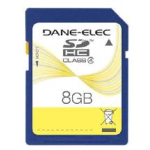 Dane-Elec 8GB Class 4 Secure Digital High Capacity (SDHC) Memory Card
