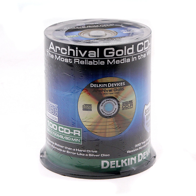 Archival Gold CD-R 100-Disc Spindle Image 0