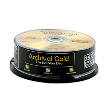 Delkin Devices Archival Gold CD-R 25-Pack Spindle