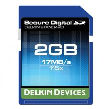 Delkin Devices 2GB Standard 115x Secure Digital Memory Card