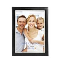Dennis Daniels Silver Plate Enamel Frame 5x7 Ebony