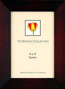 Dennis Daniels | Angled Gallery Wood Molding Dark Walnut Frame - 4 x 6 | W4804WN