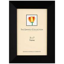 Dennis Daniels Angled Wood Frame Ebony Black 5 x 7 in.