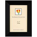 Dennis Daniels | Angled Gallery Wood Molding Frame Ebony Black - 5 x 7 | W4805E