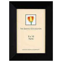 Dennis Daniels Angled Gallery Wood Molding Frame Ebony Black 8 x 10 in.
