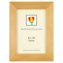 Dennis Daniels Angled Gallery Wood Molding Frame Natural Blonde 8 x 10 in.