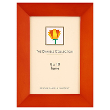 Dennis Daniels Angled Gallery Wood Molding Teak Frame 8 x 10 in.