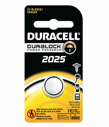 Duracell DL2025BPK Lithium General Purpose 3V Battery