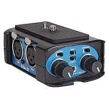 BeachTek DX-A2T Dual XLR Compact Audio Adapter for all Camcorders