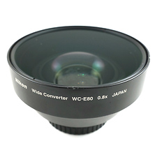 Nikon WC-E80 0.8x Wide Converter Lens with UR-E9 adapter - Pre-Owned Image 0