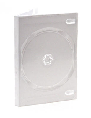 DVD Case holds 2 Discs - White Image 0
