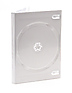 DVD Case holds 2 Discs - White