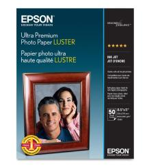 Epson Ultra Premium Photo Paper Luster 8.5x11in. - 50 sheets