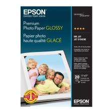 Epson Premium Photo Paper Glossy, 8 x 10in - 20 sheets