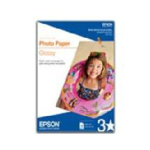 Epson Photo Paper Glossy with micro perforated borders,  4