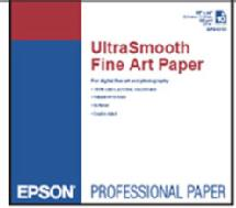 Epson UltraSmooth Fine Art Paper 325 gsm, 17