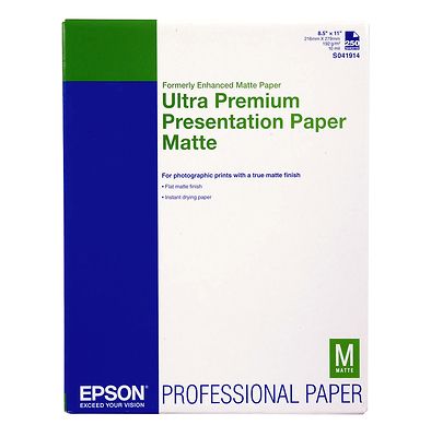 Ultra Premium Presentation Paper Matte  8.5x11in. - 250 sheets Image 0