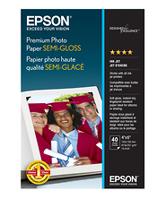 Premium Photo Paper Semigloss 4 x 6in. - 40 sheets Image 0