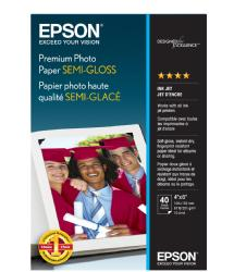 Epson Premium Photo Paper Semigloss 4 x 6in. - 40 sheets