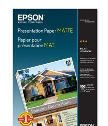 Epson Presentation Paper Matte Archival Inkjet Paper 13 x 19in. - 100 sheets