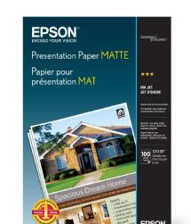 Epson Presentation Paper Matte, 11 x 17in. - 100 sheets
