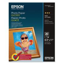 Epson Photo Quality Glossy Paper 8.5 x 11in. - 20 sheets