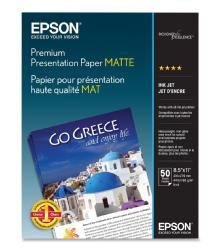 Epson Premium Presentation Paper Matte, 8.5 x 11in. - 50 sheets