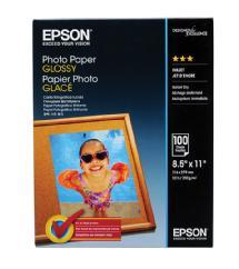 Epson Photo Paper Glossy, 8.5 x 11