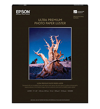 Ultra Premium Photo Paper Luster for Inkjet, 17 x 22in - 25 Sheets Image 0
