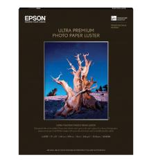 Epson Ultra Premium Photo Paper Luster for Inkjet, 17 x 22in - 25 Sheets