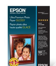 Epson Ultra Premium Photo Paper Glossy 4x6 - 100 sheets