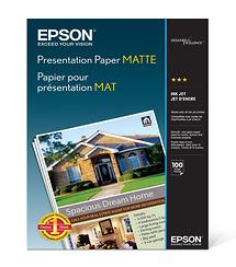 Epson Premium Presentation Paper Matte 8.5X 11in. (100 Sheets)