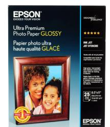 Epson Ultra Premium Photo Paper Glossy 8.5 x 11in. - 25 sheets