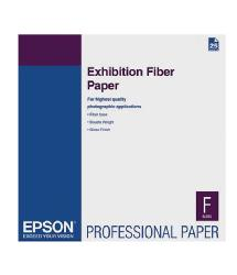 Epson Exhibition Fiber Paper for Inkjet, 13 x 19in. (25 Sheets)