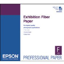 Epson Exhibition Fiber Paper for Inkjet, 17 x 22in. (25 Sheets)