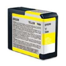 Epson Yellow 80ml for Stylus Pro 3800 / 3880 Printer (T580400)