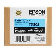 Epson Light Cyan 80ml for Stylus Pro 3800 / 3880 Printer (T580500)